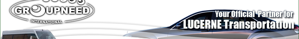 Airport transfer to Lucerne from Zurich with Limousine / Minibus / Helicopter / Limousine